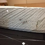 Mattress from foldout in 1st room