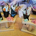 shrimo tempura cones