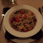 Cottage Place Restaurant, Flagstaff - Spaghetti with cherry tomatoes