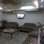 Wide lounge
