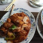Sweet and sour chicken/ beef curry