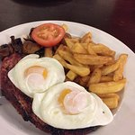 Gammon super meal.