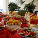 Buffet de fruits midi et soir