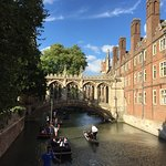Bridge of sighs and court