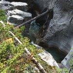 Maligne Canyon Foto