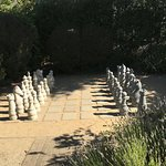 Human-sized chess set