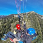 Paragliding off the Tetons