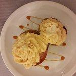 Pomme mousse au caramel beurre salé