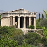 Tempel des Hephaistos Foto