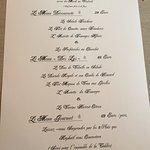 The set menus
