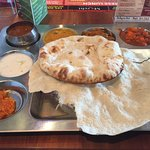Weekend lunch thali