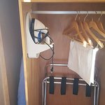Closet with Iron and board