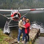 Plane on a Lake . so cool