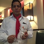 Great service and food with a big smile. Misael was our waiter and did great. Buen servicio y co