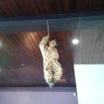 Un clown au plafond