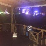 Vu imprenable sur le Lunapark (entre les 2, c'est la route...) Si les mobilhomes parraissent ble