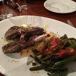 Lamb chops and Mediterranean Chicken