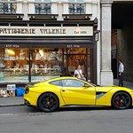 Ferrari at Patisserie Valerie