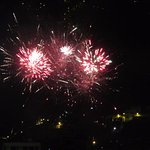08/10/2016 Fireworks Seen from Kinde House B&B