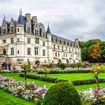Chenonceau from Queen Catherine's Garden