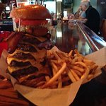 Challenge burger