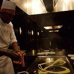 Our chef at Kimono's
