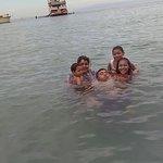 agua y playa limpias
