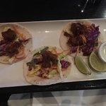 Crispy lobster  tacos