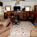The living room area on main floor.