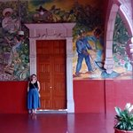 The murals in the palacio govierno are impressive.