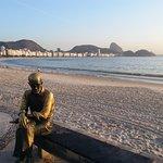 Just Opposite the Hotel at Copacabana beach