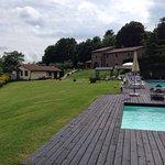 L'esterno, le piscine, lo splendido panorama