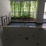 The jacuzzi on our balcony