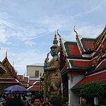 Wat Phra Kaeo (Tempel des Smaragd-Buddha) Foto