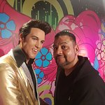 me with the King of Rock n Roll Elvis Presley
