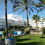 Swimming pool Hotel best oasis tropical, mojacar, Spanien