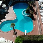 piscine de l'hotel !