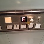 Elevator - Need to turn your key in order to get on hotel floor