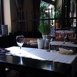 The main restaurant room, ordinary look