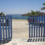 il cancello di ingresso a Porto Raphael....Le porte dell'infinito....