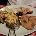 Evening meal at the Mermaid last week