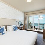 Sea View Balcony Room - Golden Sands Hotel Jersey