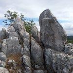 L'Antece (guerriero scolpito nella roccia)