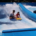 Learning the flow rider! Best experience!