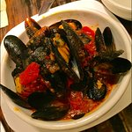 The mussels are amazing - but plan on plenty of bread to enjoy the sauce!