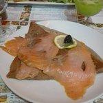 pata crepe saumon