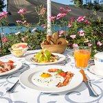 Frühstück auf der See Terrrasse