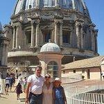 Visite de la coupole de Saint Pierre avec Amil !!