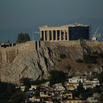 Acropolis, picture from the balcony