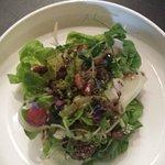 Bossa Nova salad; summer truffle vinaigrette